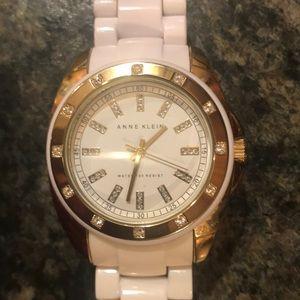 Anne Klein White Ceramic Watch